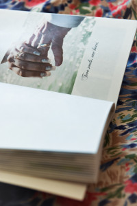 Made in Paris wedding album by Anais Chaine Photography