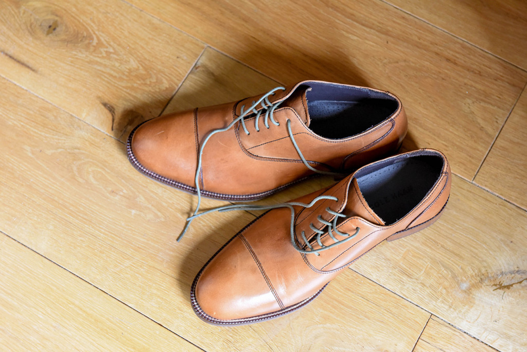 Cole Hanns shoes for Vincent, 1950's style.