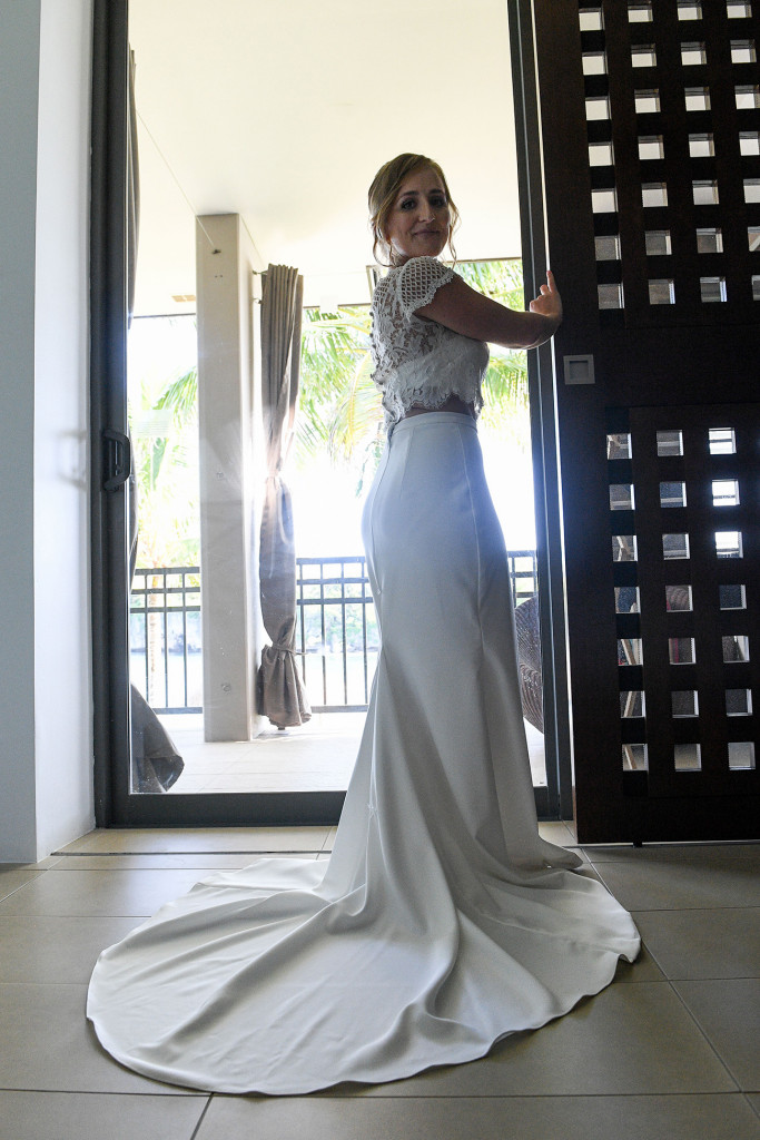 Gorgeous Bride at the Intercontinental Fiji