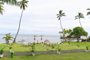 Wedding at the Warwick Fiji