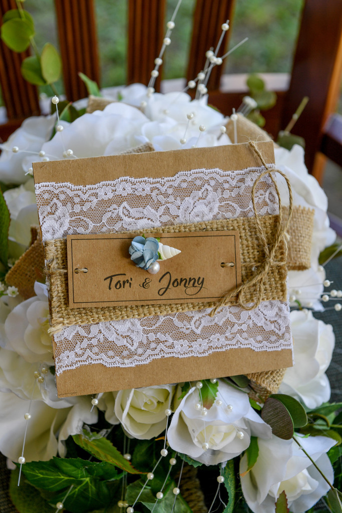 DIY bohemian wooden lace wedding card
