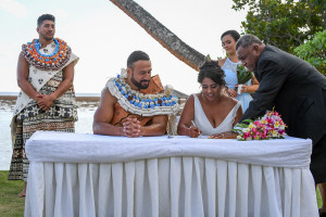 Signing of Marriage certificates