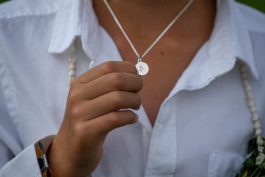 S Shaped groom necklace